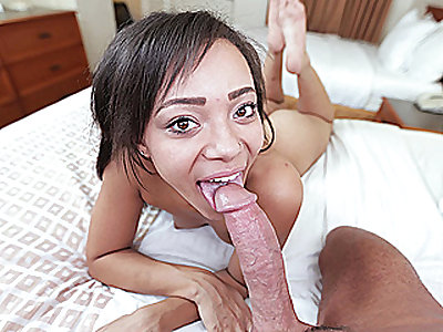 Bubbly Ebony Teen Fucked Good